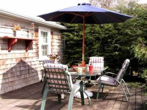 Cape Cod Vacation Home Deck