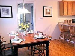 Cape Cod Vacation Home Dining Room