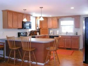 Cape Cod Vacation Home Kitchen