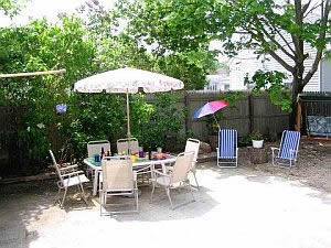 Cape Cod Holiday Rental - Patio