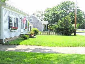Front Yard at Cape Cod Holiday Rental