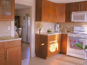Cape Cod Holiday Rental - Kitchen