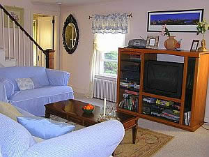 Cape Cod Holiday Rental -  Sunny Living Room