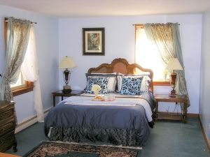 cape cod pet friendly rental master bedroom